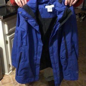 Womens interchangable columbia jacket